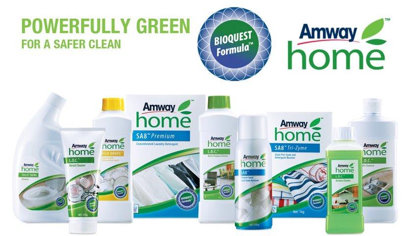 AMWAY - моющие средства по уходу за домом фирмы AMWAY (США)