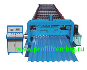 Оборудование (линия) для производства металлочерепицы «Монтеррей», «Монтеррей-Лю