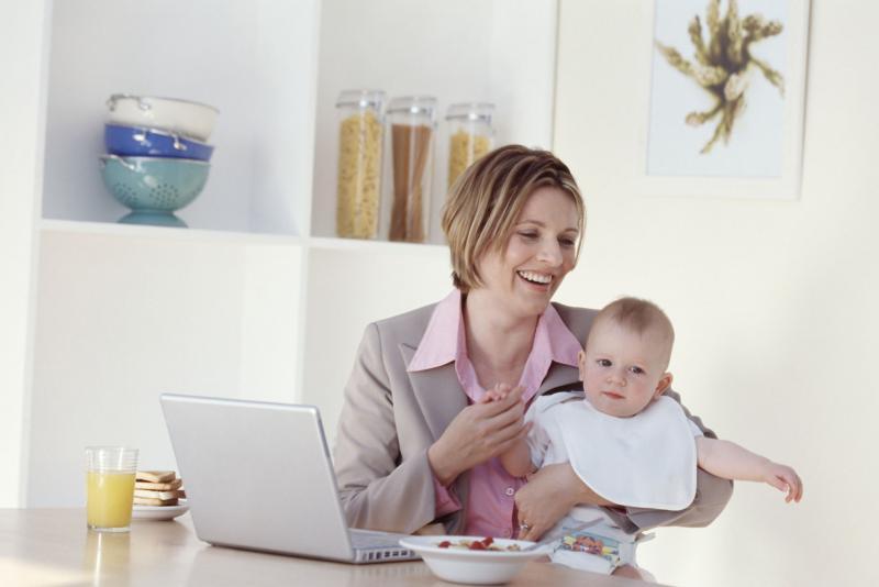 Бизнес для беременных и молодых мам на дому 66