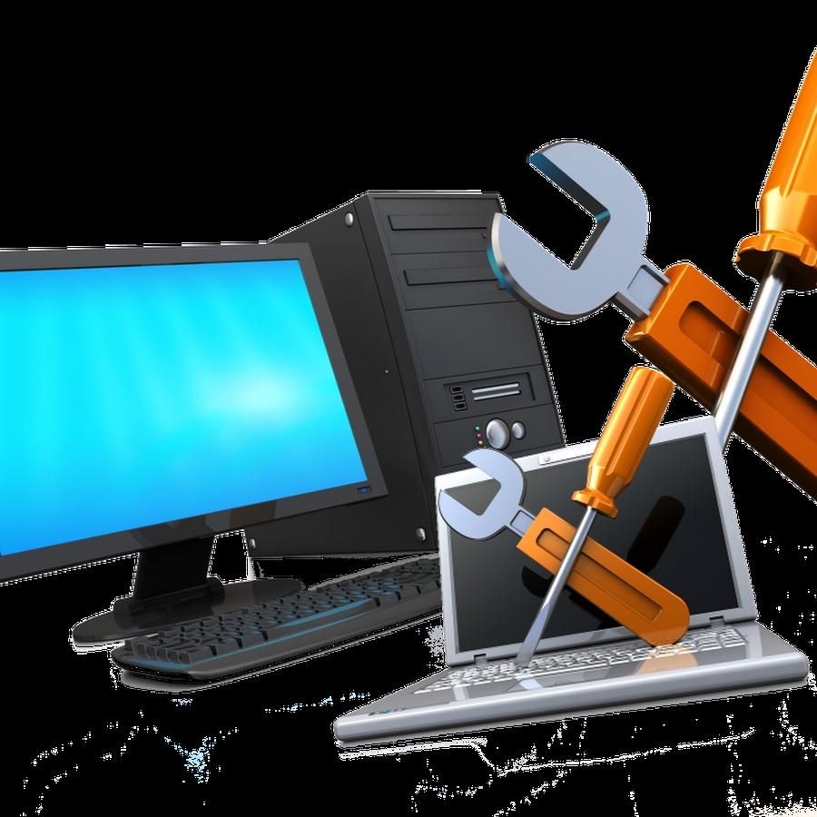 Исправлю сломанный компьютер дома и в офисе