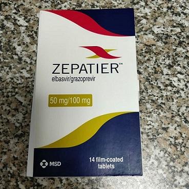 Предлагаем Зепатиер Zepatier Elbasvirgrazoprevir компании MSD