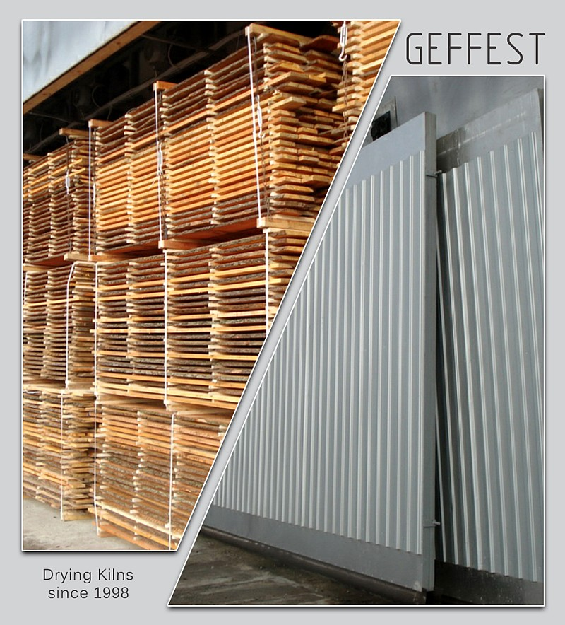 GEFEST - современные сушильные камеры для сушки древесины высокого качества.