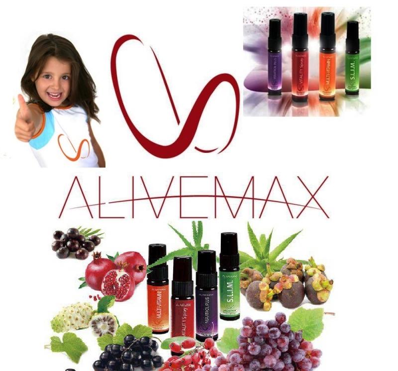 Компания AliveMax витаминные спреи